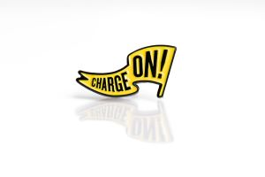 Charge On Lapel Pin